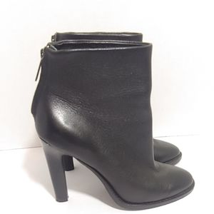 Joie Blayze black leather heeled ankle boots